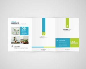 3xA4 Brochure Mock-Ups