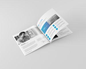 Square Magazine / Brochure Mock-Up