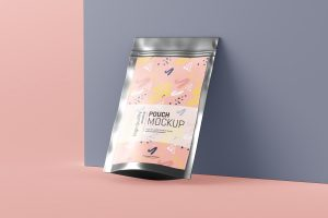 Stand Up Pouch Mockup