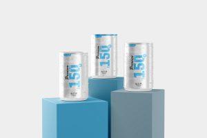150ml Soda Can Mockup